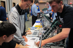 VEX Competition at Cedarville University on February 4, 2012.
