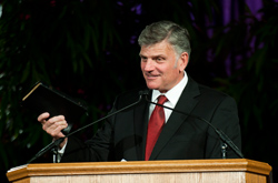 Franklin Graham Cedarville University 116th Commencement