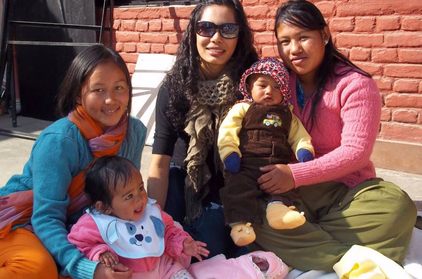 Nursing graduate student Maya Shrestha recently completed work determining the impact of pro-life education on abortion attitudes in Nepal. Photo courtesy of Maya Shrestha.