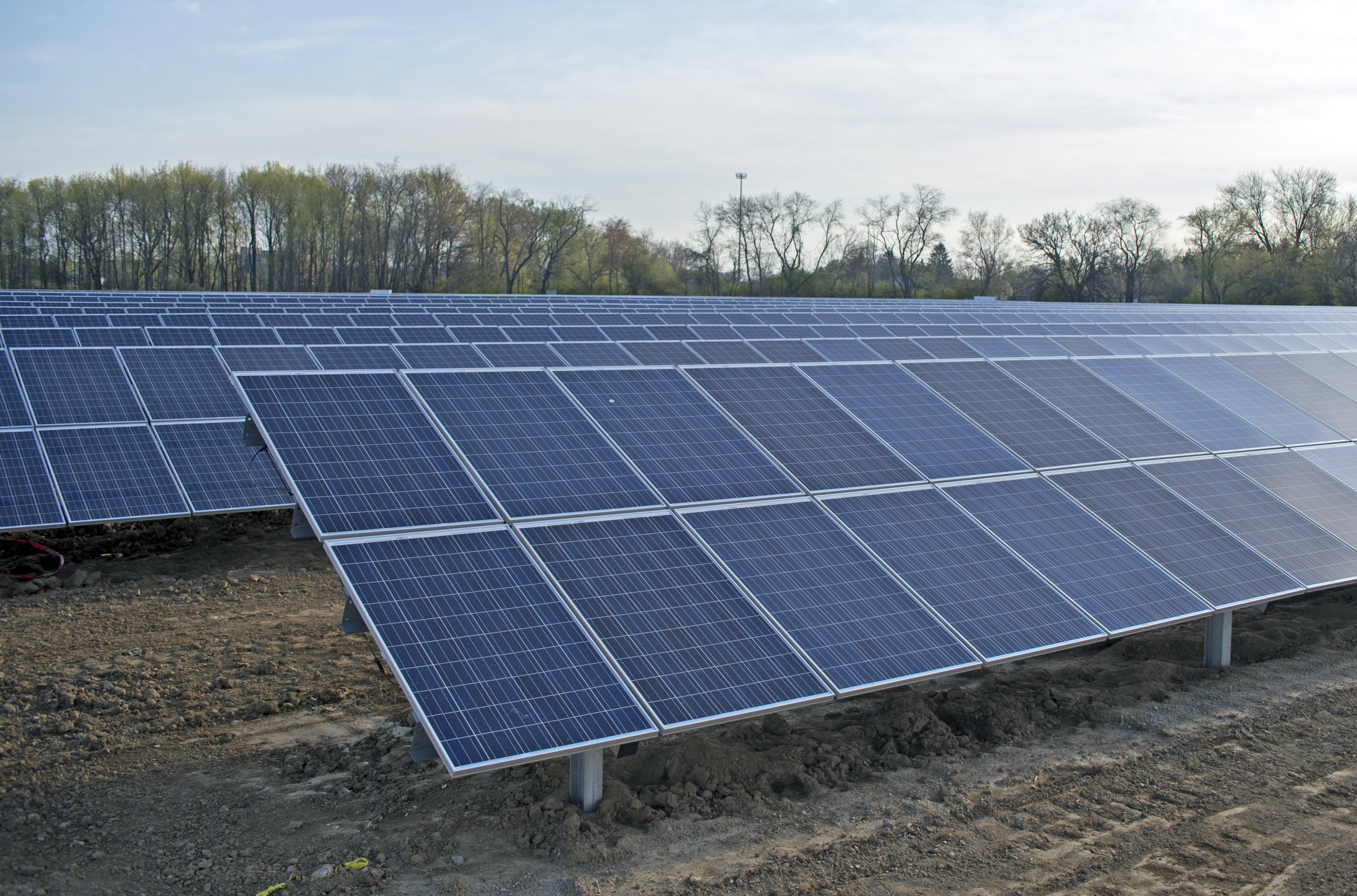 Cedarville University will dedicate its large scale solar power system that will convert sunlight into clean electricity to help meet the campus' growing power requirements on Friday, April 26, at 1 p.m.