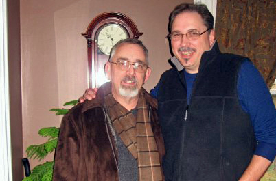 Following his brother's death, Jim Leightenheimer plans to honor Tom's legacy by walking, biking and paddling his way through southern Ohio. Photo courtesy of Jim Leightenheimer.