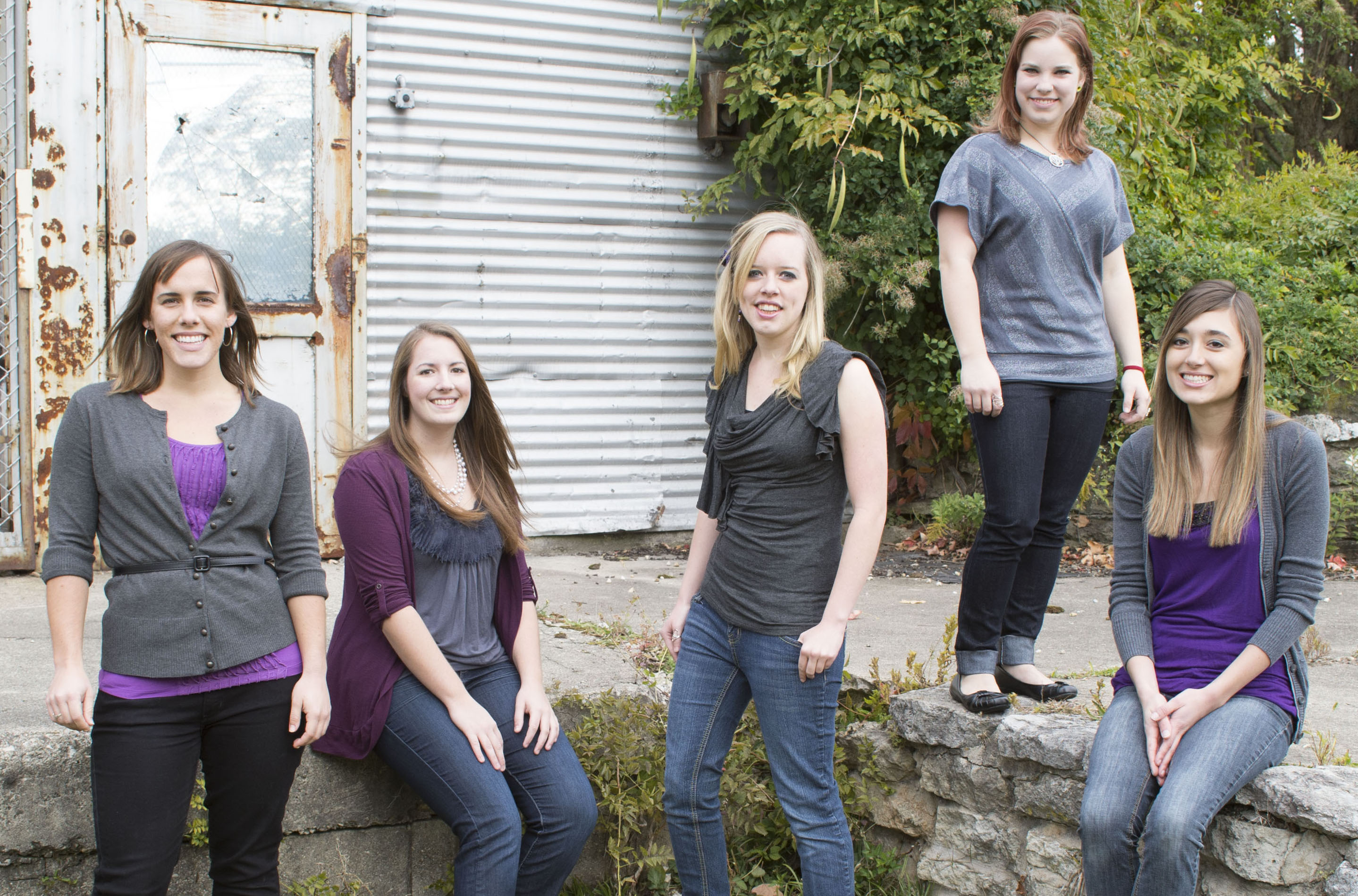 An all-female band leads worship for women's conferences on and off campus. Photo credit: Scott L. Huck/Cedarville University