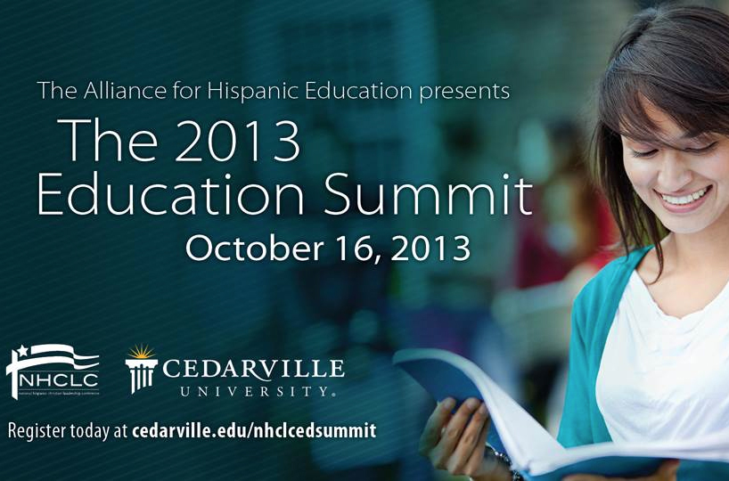 The 2013 Hispanic Alliance Education Summit will address educational challenges in the Hispanic community and strategies for encouraging academic success. Photo credit: Joshua Redmond/Cedarville University