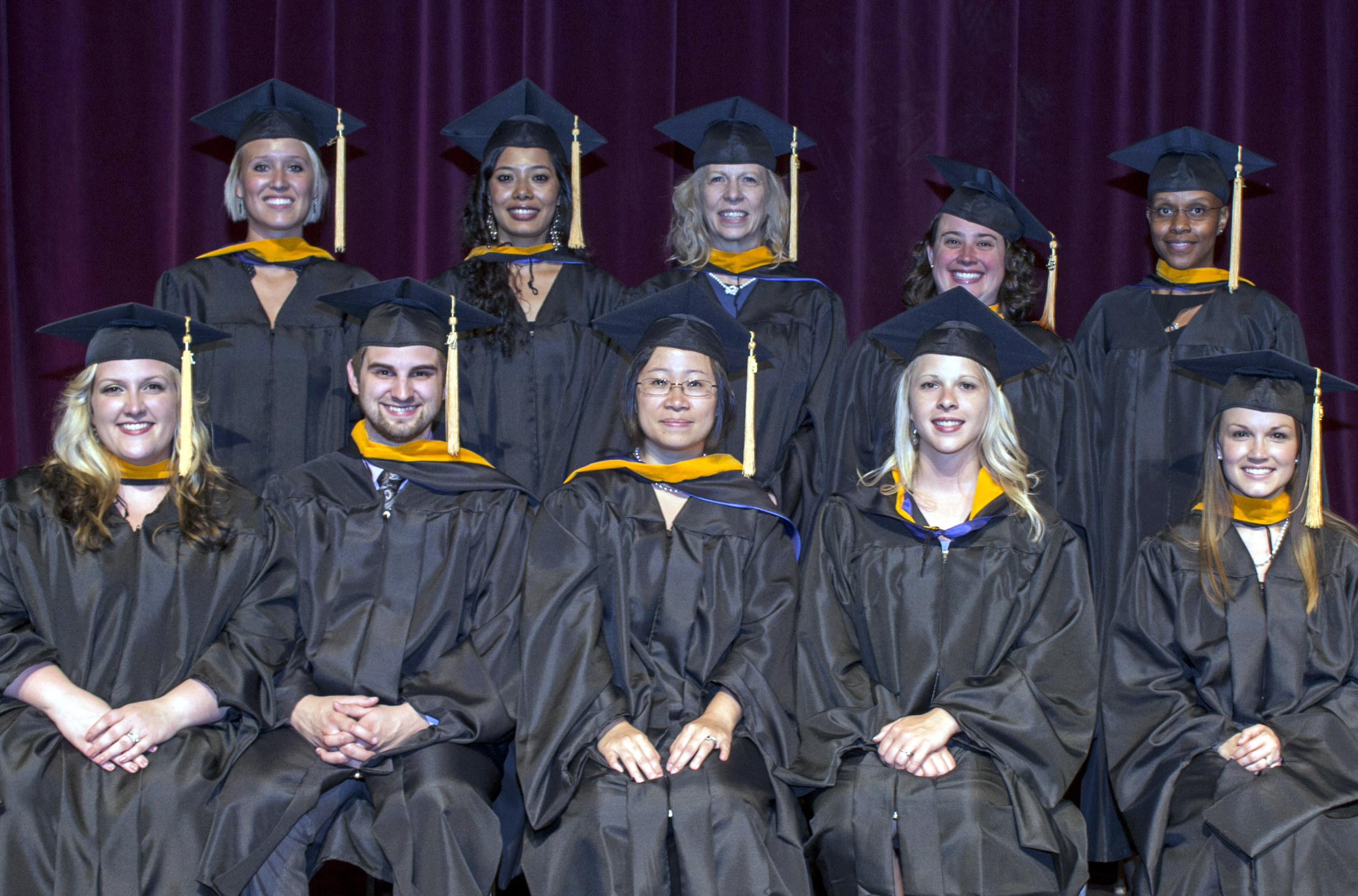 On August 24, Cedarville University celebrated the graduation of its first class from the Master of Science in Nursing program. Photo credit: Scott L. Huck/Cedarville University