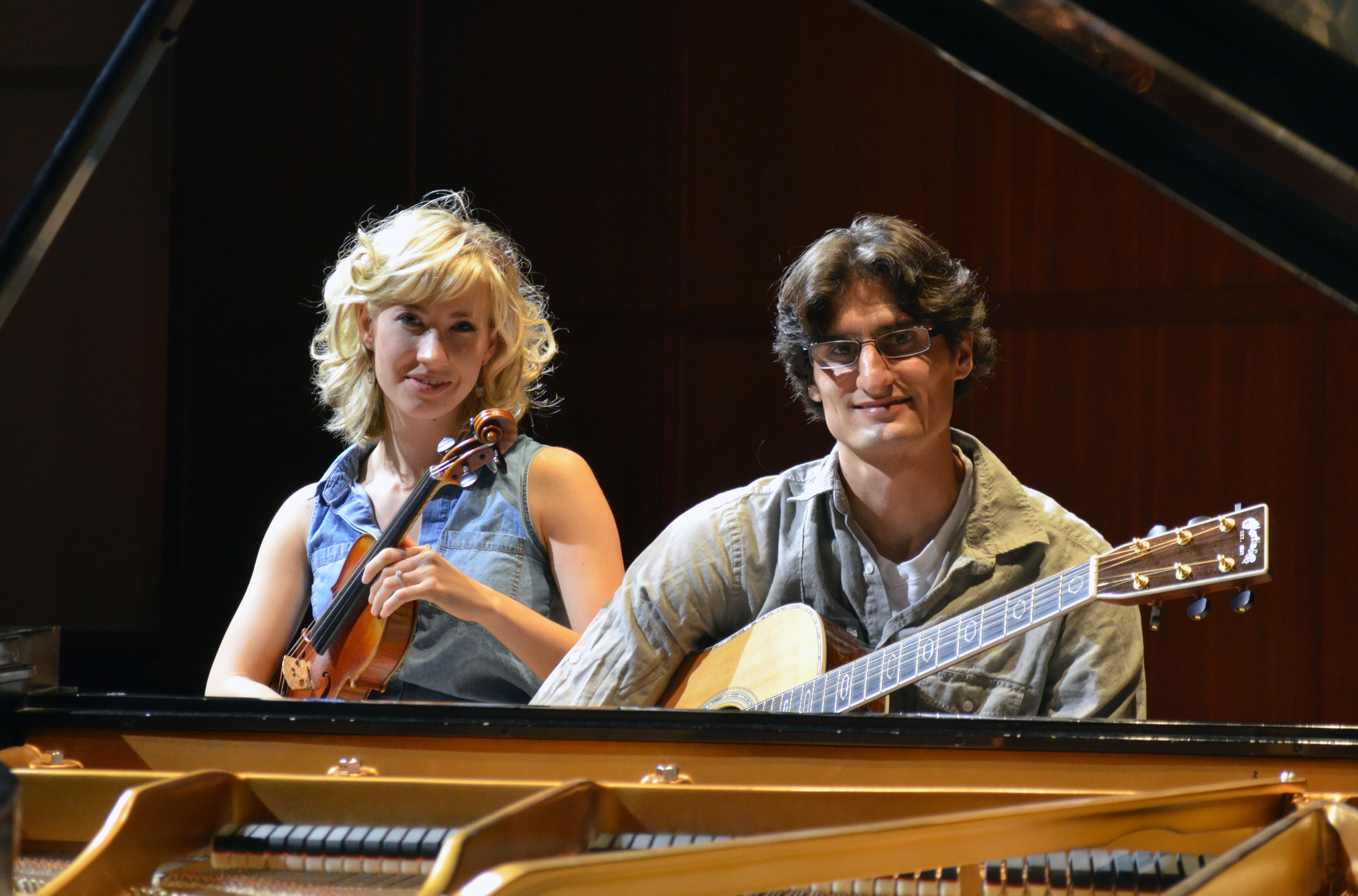 Cedarville University graduates Emily and Daniel Kohavi are using their talent to impact the music industry in Nashville. Photo credit: Charles Clevenger.