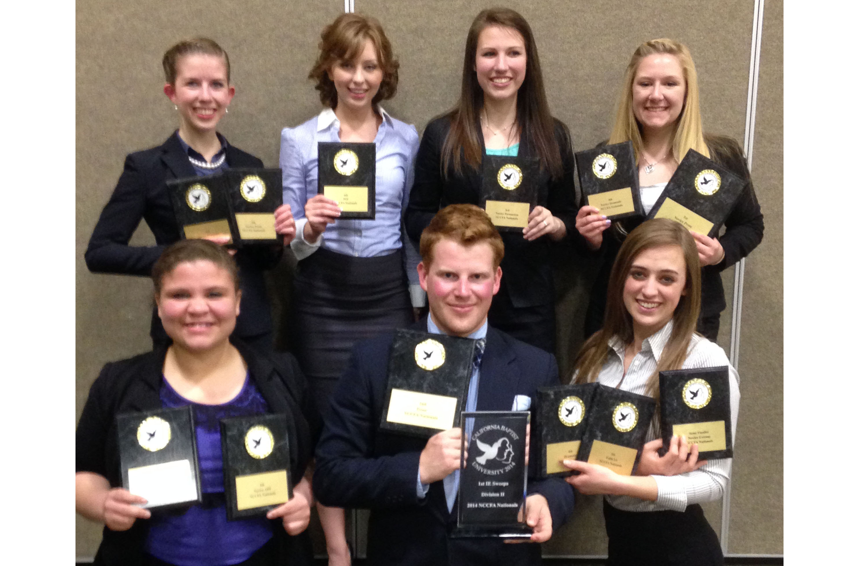 National Championship for Speech Team