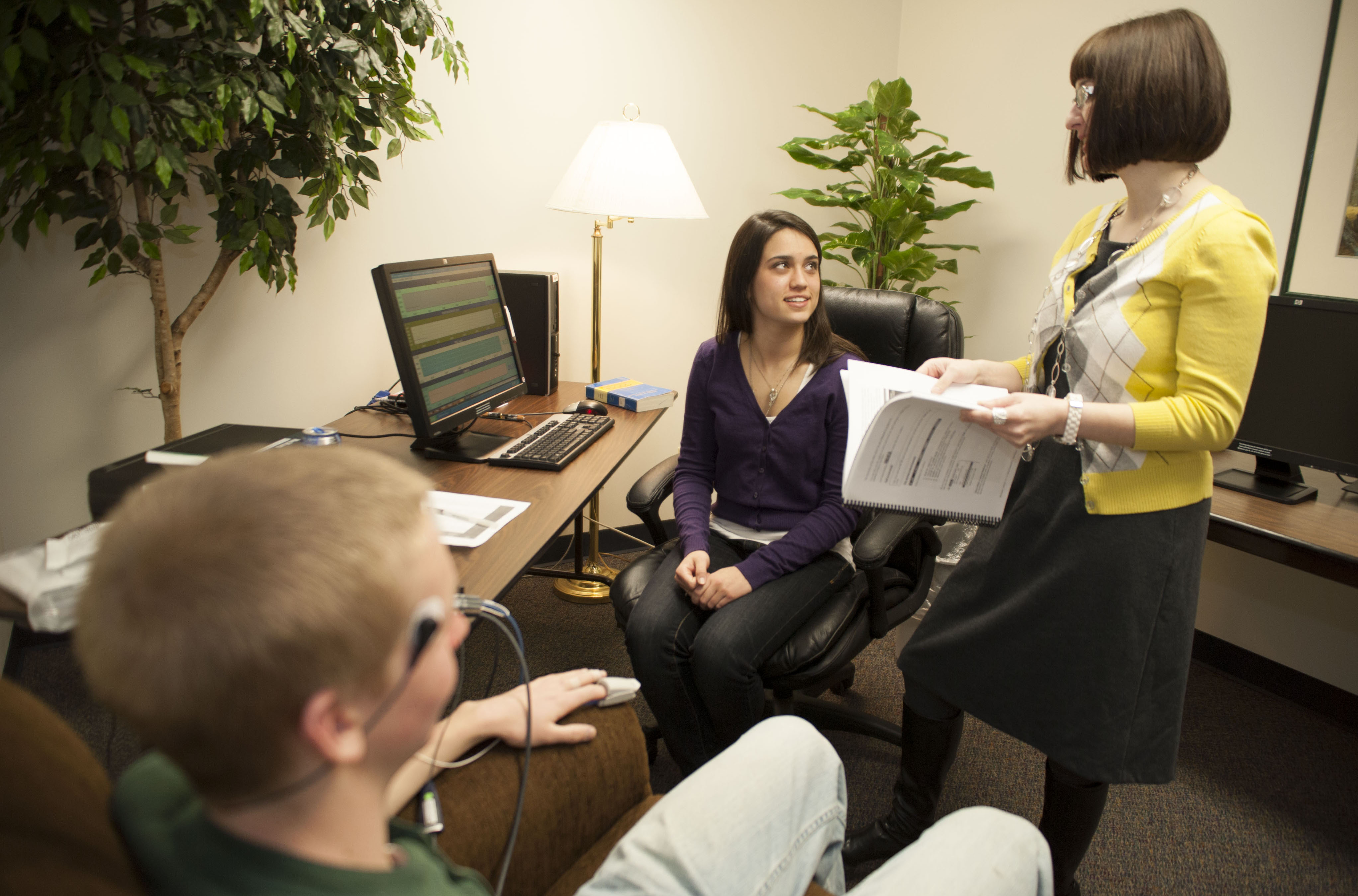 Internships present an opportunity for psychology students to acquire practical training and experience in their field. Photo credit: Scott L. Huck/Cedarville University