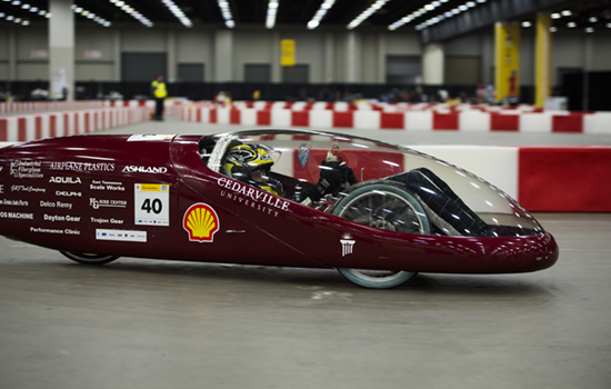 Shell supermileage car