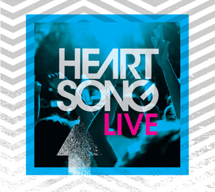 Heartsong Live 2012 CD Cover