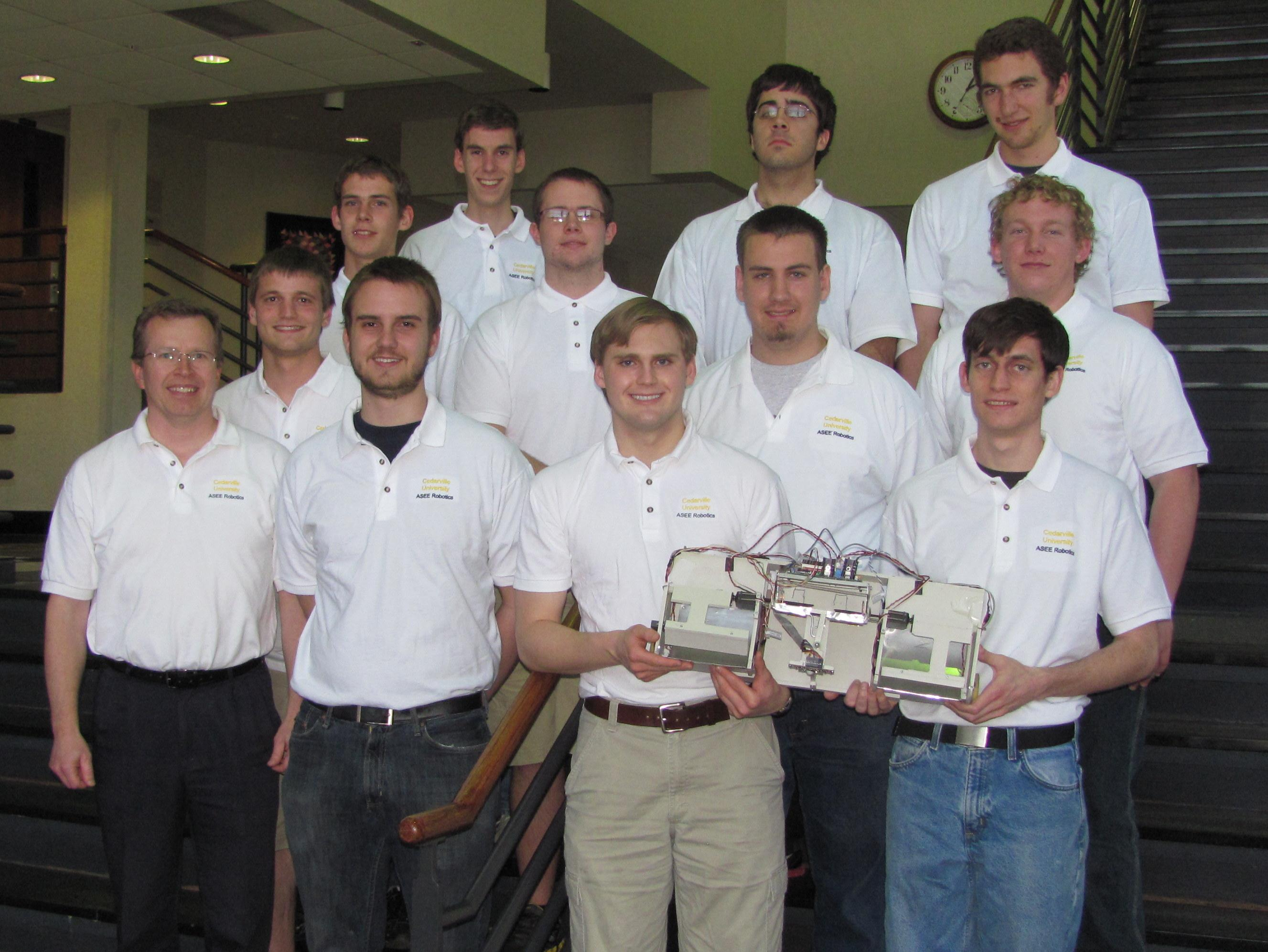 Cedarville University 2013 ASEE Robotics Team