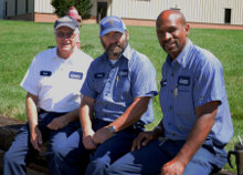Carpentry/Maintenance Staff: Richard Cughan, Terry Merrill, Larry Reid