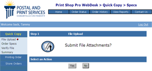 Submit File Attachments