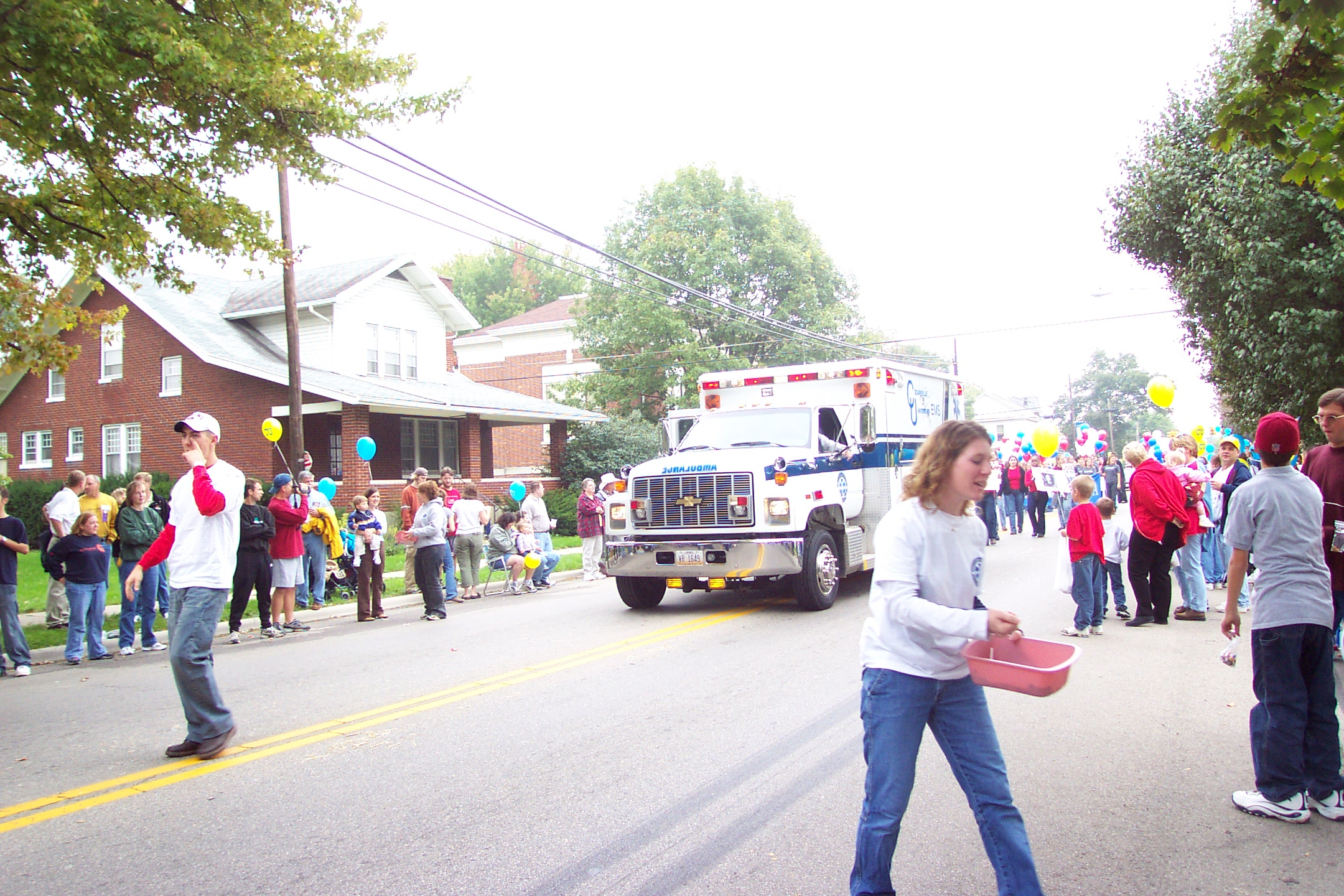 ambulance in parade