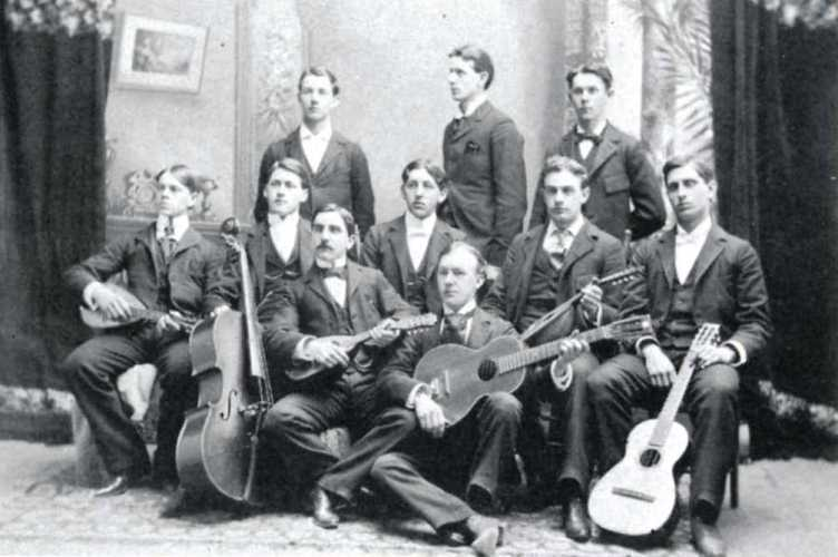 1897 glee club at Cedarville College