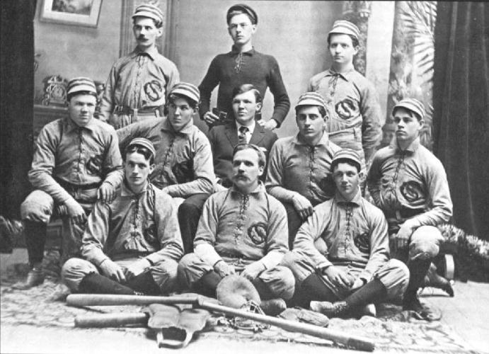 1897 baseball team at Cedarville College