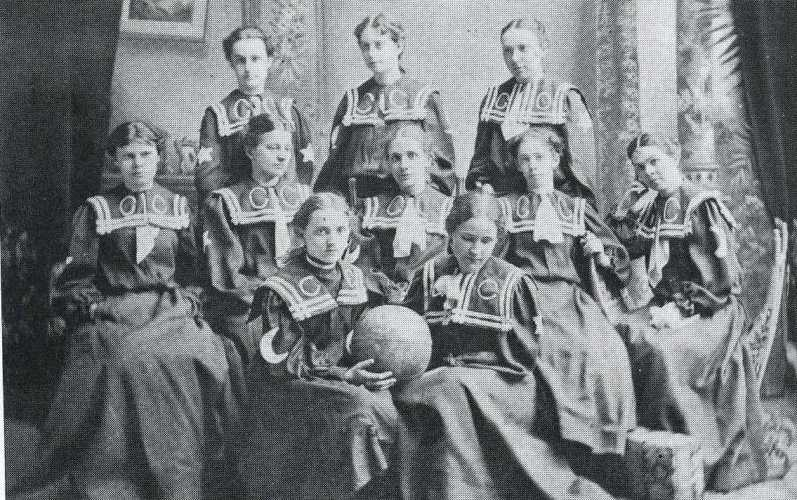 1898 womens basketball at Cedarville College