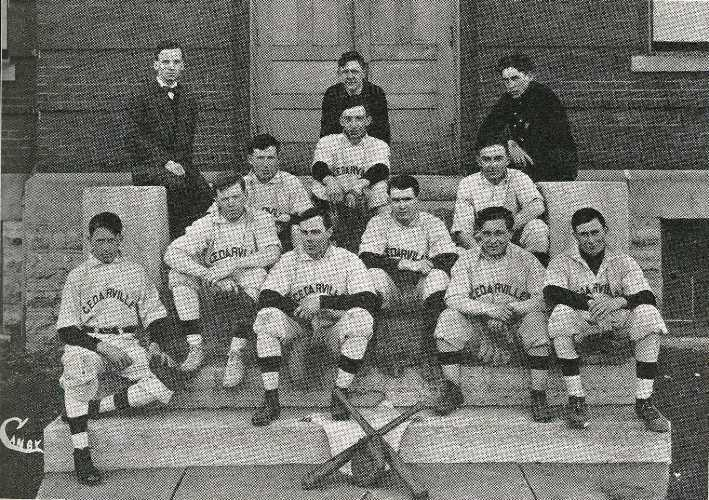 1911 baseball team at Cedarville College