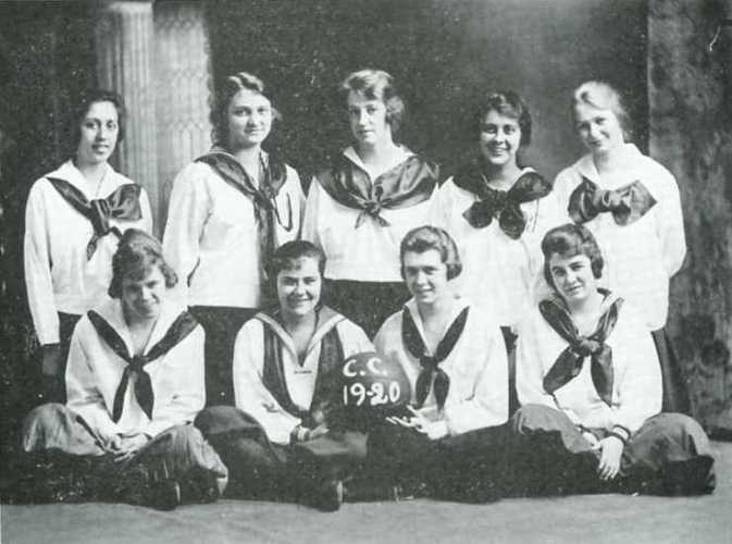 1920 womens basketball at Cedarville University