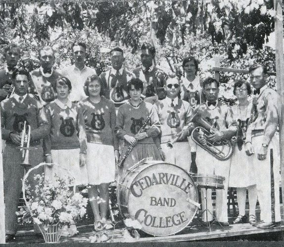 1931 band at Cedarville College