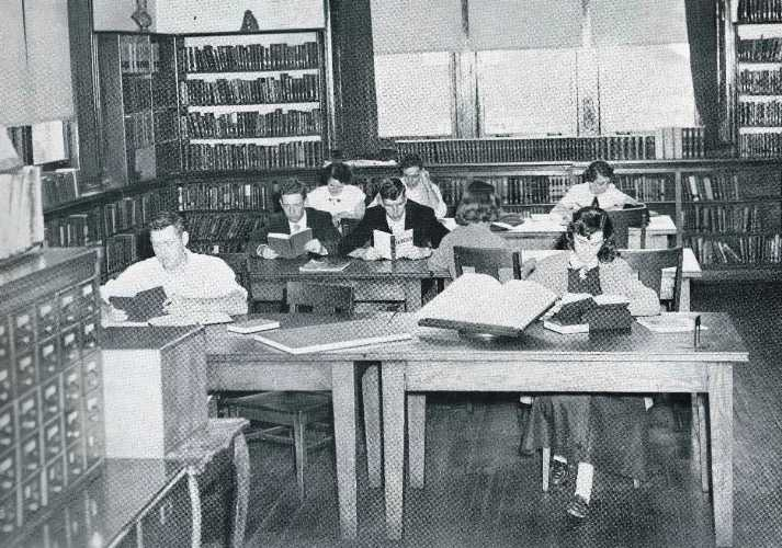 1955 students at Cedarville College