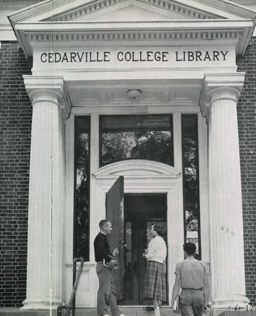 1959 library at Cedarville College