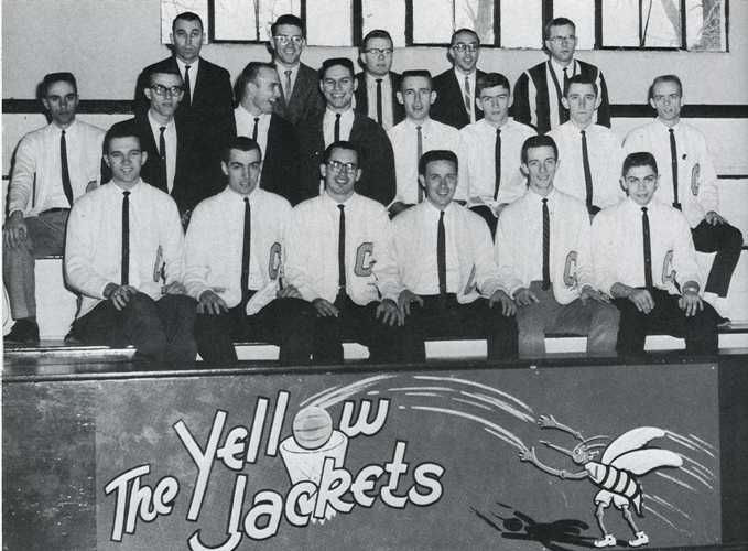 1962 varsity mens basketball