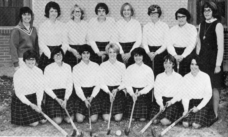 1968 womens field hockey at Cedarville College