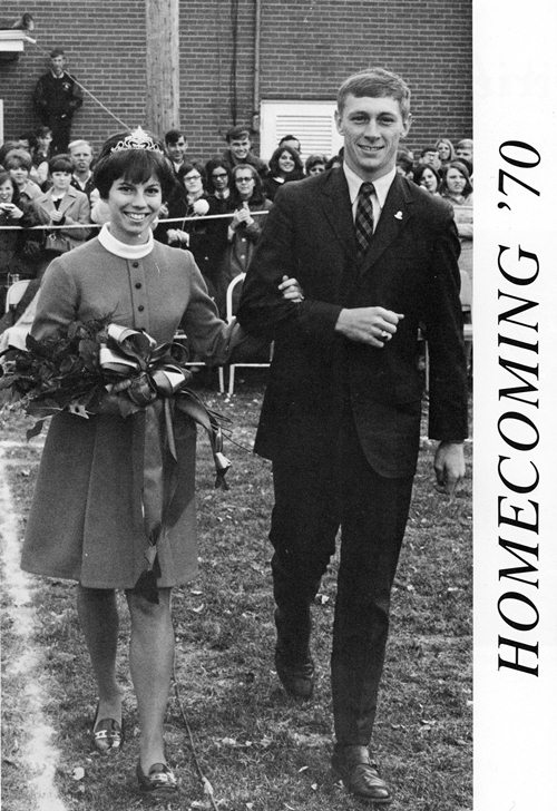 1970 Cedarville College homecoming