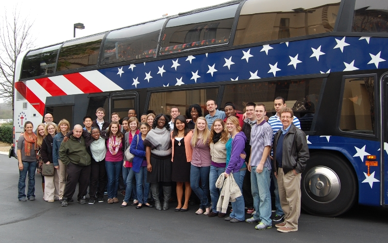 Cedarville University Civil Rights Bus Tour encouraging racial reconciliation