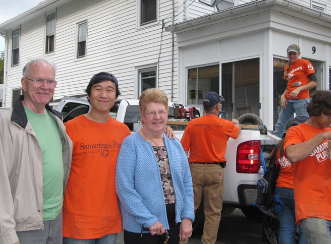 Serving in flood-ravaged New York with Samaritan's Purse