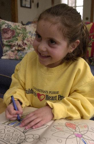 Thanks to life-saving surgery coordinated through Samaritan's Purse Children's Heart Project, Agnesa will return to her home in Kosovo with a miracle in her heart. Photo courtesy of Samaritan's Purse