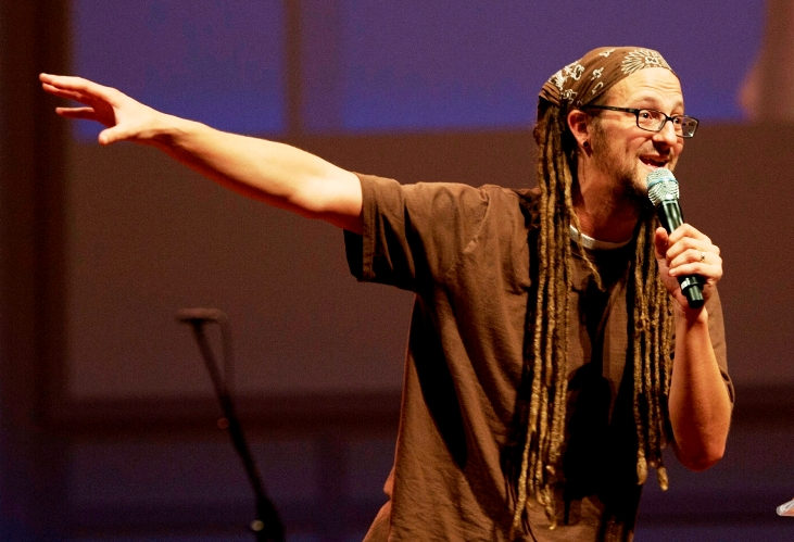 Shane Claiborne, founder of the Simple Way and author of the Irresistible Revolution