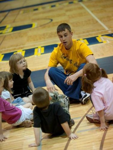 homeschool phys ed at Cedarville University