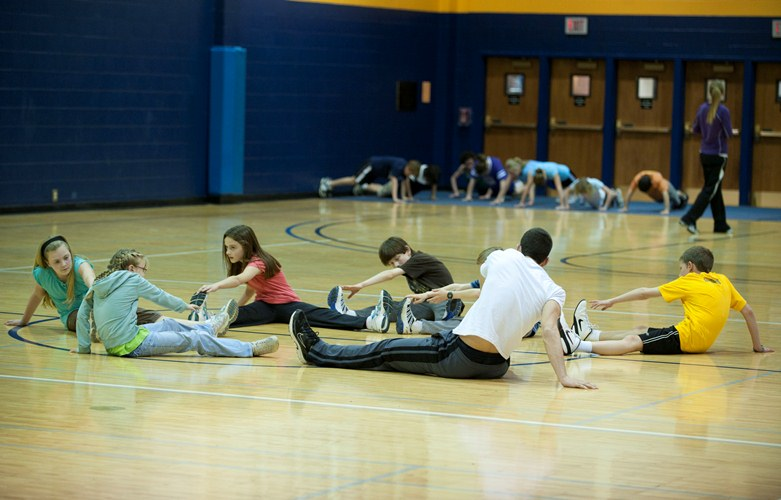 homeschool physical education at Cedarville University