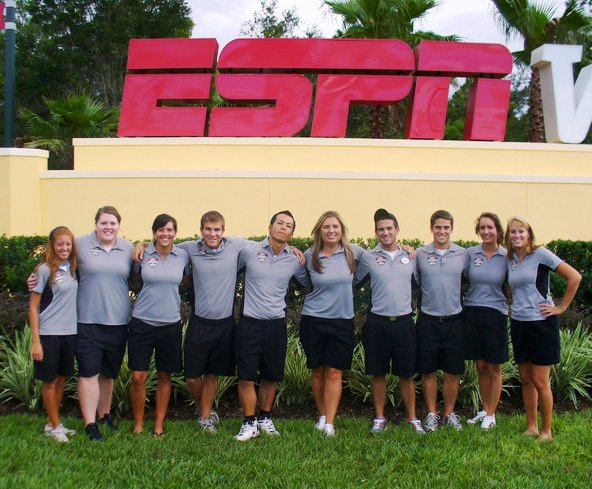 Samuel Wichael '11, interned at the ESPN Wide World of Sports complex