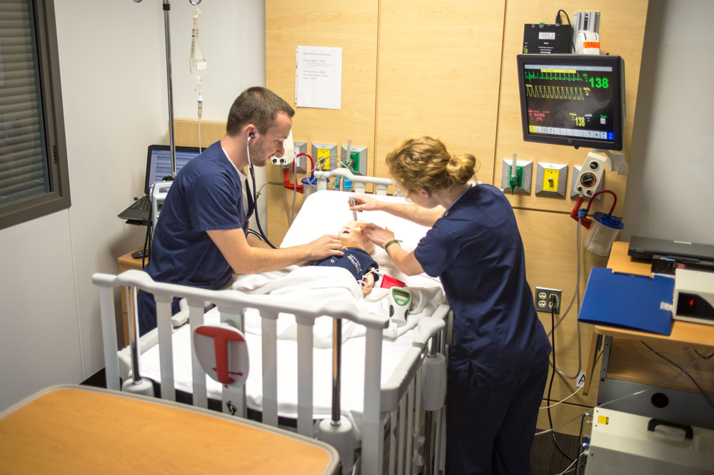 HSC Nursing Simulation with Students