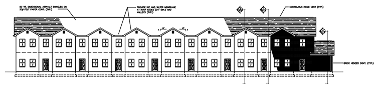 Townhouse Elevation