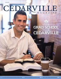 Cedarville Magazine Fall 2016 cover