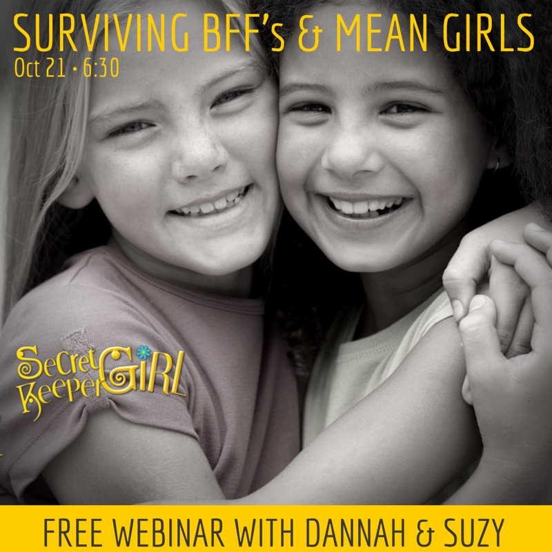 Surviving Mean Girls and BFFs Webinar Graphic