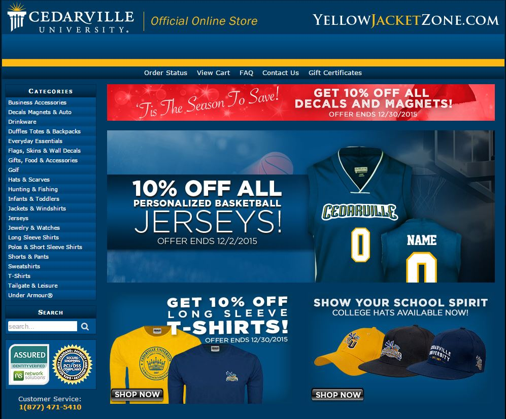 Yellow Jacket Zone Online Bookstore